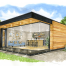 Into The Garden Room - The California - Sketched