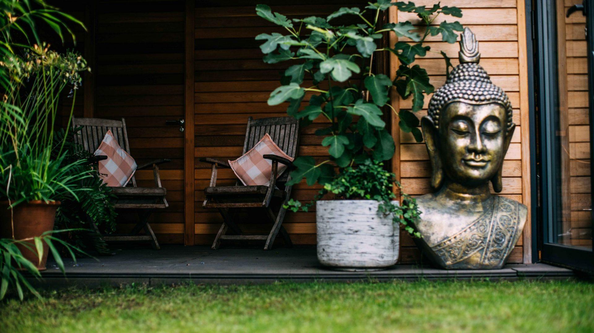 Into The Garden Room - Buddha - Sunset7